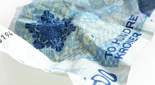 Finanskrisen rammer forskningsmålene
