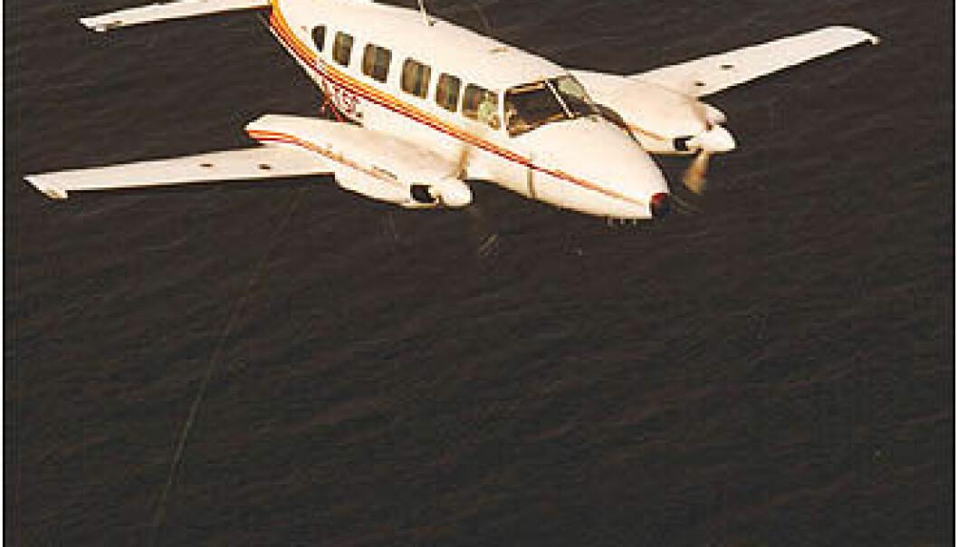 Geofysiske målinger fra fly.