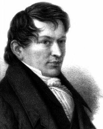 Maurits Hansen. (Illustrasjon: Wikimedia Commons)