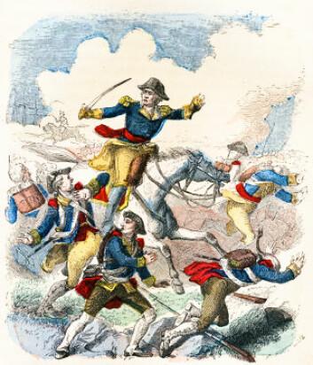George Washington fikk god hjelp av malariamyggen under den amerikanske frigjøringskrigen. (Ilustrasjon: iStockphoto)