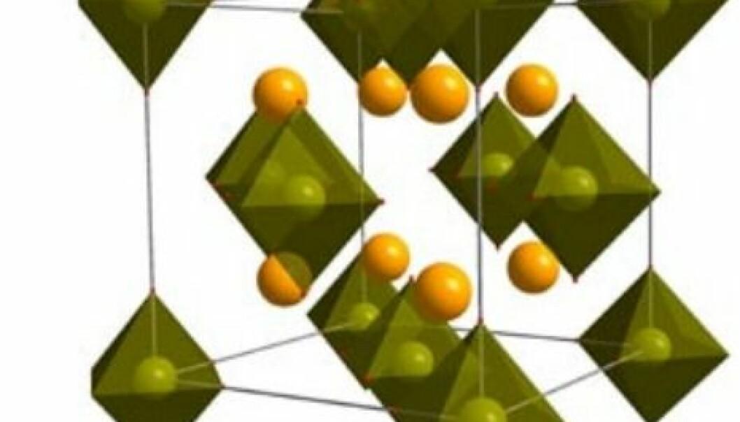Slik er strukturen til nye magnesiumlegeringen som IFE har kommet frem til.