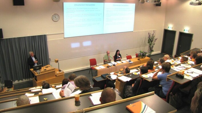 Innspillseminar om de nye nasjonale kostrådene. (Foto: Marianne Nordahl)