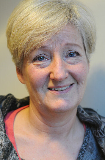 Høgskolelektor Maya Ringvold. (Foto: Christine Gulbrandsen)