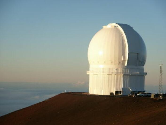 """""""Solobservatoriet på toppen av den aktive vulkanen Mauna Loa på Hawaii. (Foto: iStockphoto)"""""""