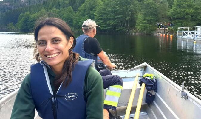 Ana Silva er ekspert på hvordan fisken forholder seg til vannstrømmer.