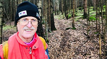 Ståle (80) har gjenoppdaget 150 kilometer av de gamle hovedveiene i Nordmarka
