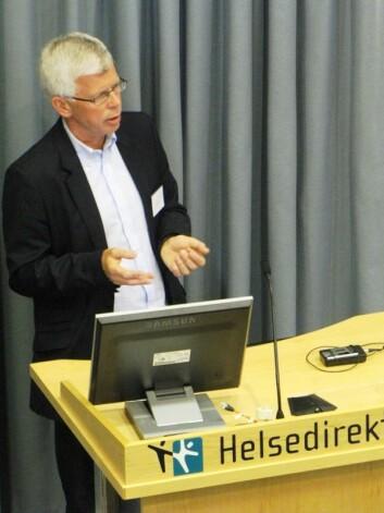 Rune Blomhoff syntes det var mange gode innspill til utkastet til de nye kostrådene på seminaret hos Helsedirektoratet. (Foto: Marianne Nordahl)