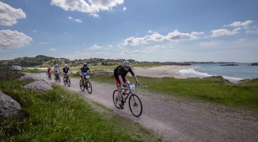 Mosjonister som tok tran jevnlig, var mindre støle etter langt sykkelritt