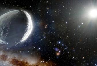En kjempekomet er på vei innover i solsystemet