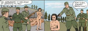 Utdrag fra tegneserien 26.november. (No Comprendo Press)
