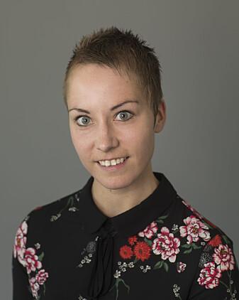 Rita Moseng Sivertsvik snakker om «people pollution»; om hvordan mange folk gjør naturopplevelsen mindre bra.