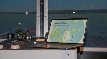 Skipsfarten kan bli tryggere med kunstig intelligens