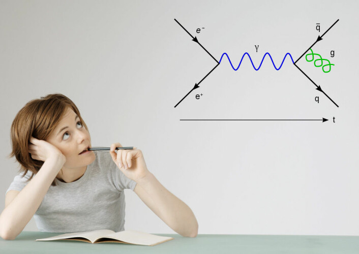 Å skrive om sine egne viktigste verdier kan gjøre kvinner bedre i fysikk. (Foto: Colourbox / Joel Holdsworth)