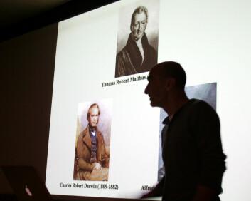 Thomas Malthus' modeller er i Darwin-året ofte nevnt som en historisk inspirasjon for evolusjonslæren. (Foto: Asle Rønning)