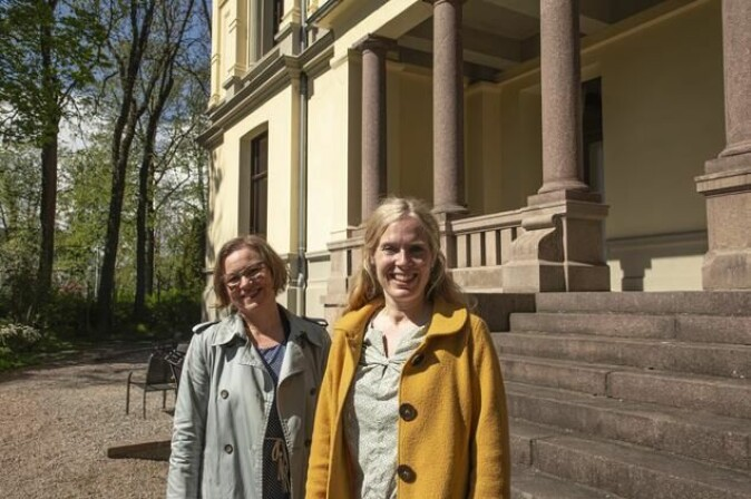 Marianne Bjelland Kartzow, professor of New Testament studies at the University of Oslo (UiO), and Liv Ingeborg Lied, professor of the study of religions at MF Norwegian School of Theology, Religion and Society (MF).