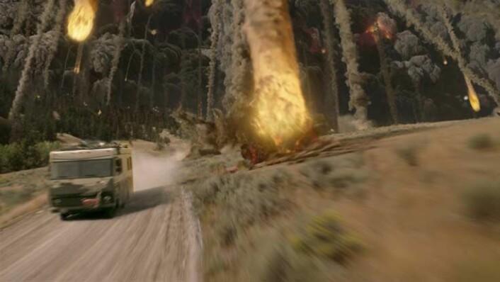 """Fra en scene i filmen """"2012"""". (Illustrasjon: Walt Disney Studios Motion Pictures Norway)"""