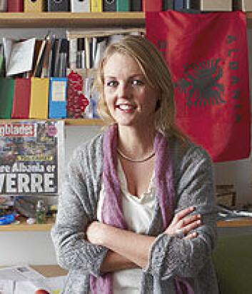Cecilie Endresen, stipendiat ved Institutt for litteratur, områdestudier og europeiske språk, UiO. (Foto: Annica Thomsson)