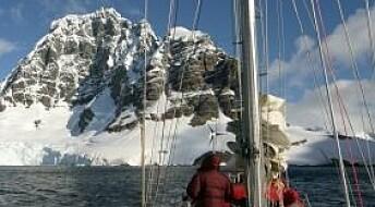 Den farlige isen i Antarktis
