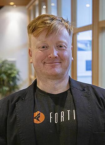 CAS project leader Paul Arne Østvær.