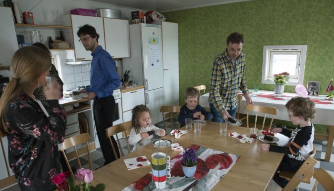 Barnebursdag i Tårnet i Villa Holmboe.