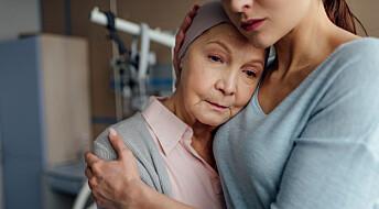 Depresjon hos eldre med kreft gir høyere dødelighet