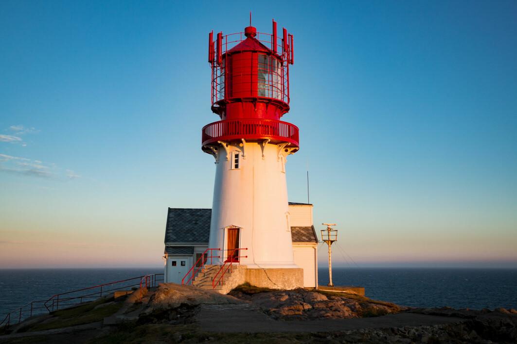 Lindesnes fyrmuseum på Sørlandet er ett av Norges mer enn 500 museer.