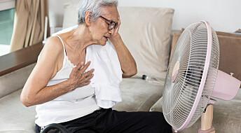 Hvorfor dør folk når det blir skikkelig varmt?