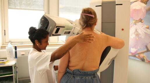 Oppdager bare litt mer brystkreft med 3D-bilder av brystene enn ved vanlig mammografi