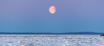 Overraskende funn: Månen bidrar til utslipp av metangass i havet
