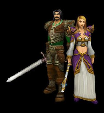 """Spillfigurer fra World of Warcraft. (Bilde: Blizzard)"""
