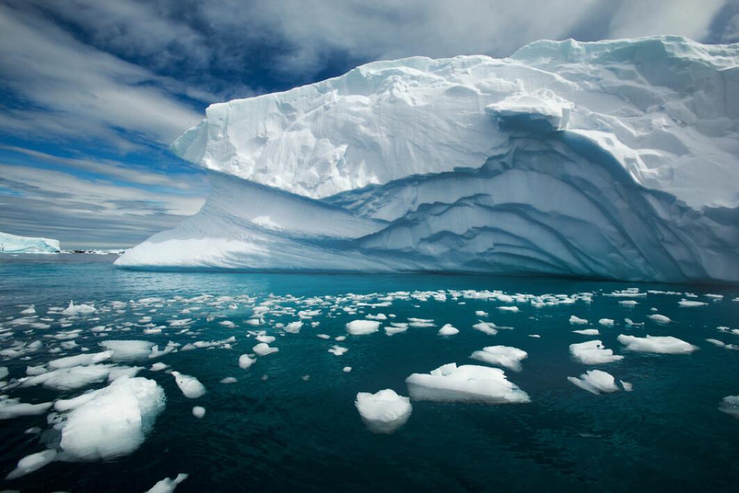 Sørishavet befinner seg rundt Antarktis.