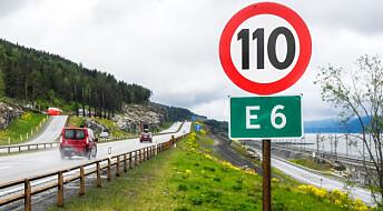 Så smal kan veien bli uten at det går utover trafikksikkerheten