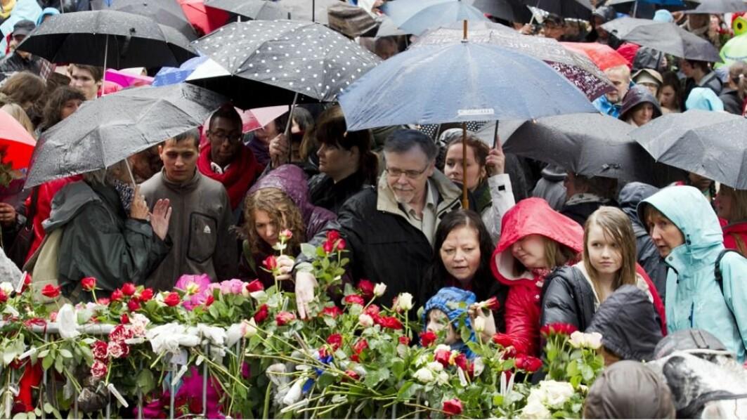 Rosetog i dagene etter terroren: Ti tusenvis deltok i markeringer og rosetog i dagene etter terroren på Utøya og i regjeringskvartalet.