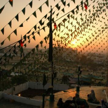 Feiring i Karachi, den største byen i Pakistan. (Foto: iStockphoto)