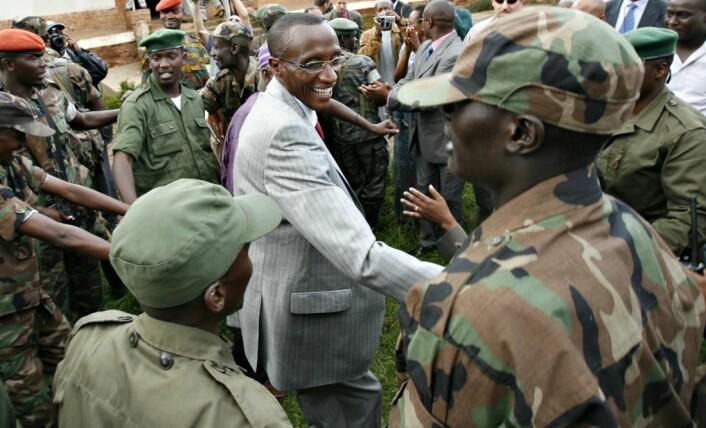 Tutsiopprørslederen Laurent Nkunda (Foto: REUTERS/Skanpix