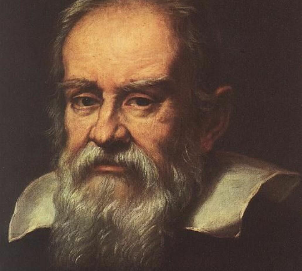 Portrett av Galileo Galilei, malt av Medici maleren Justus Sustermans, cirka 1640.