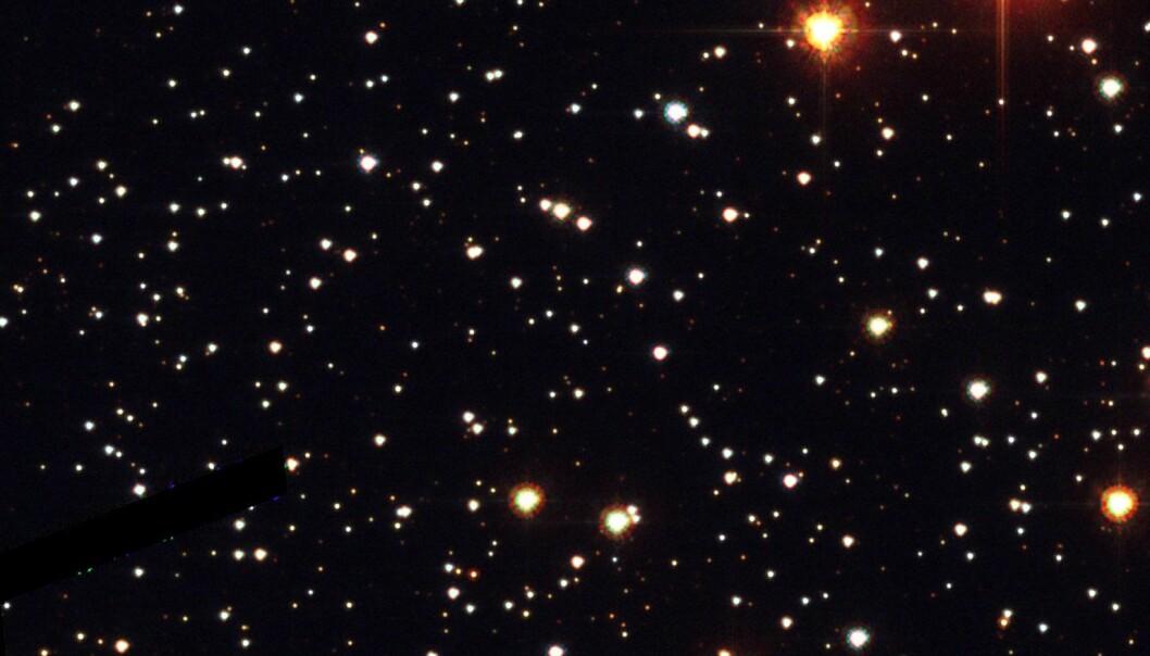 Planeten fra en annen galakse