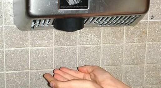 Papir fjerner flest bakterier