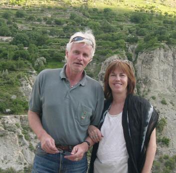 Terje Skaufjord og Elisabeth Eide er ute med ny bok om Pakistan.