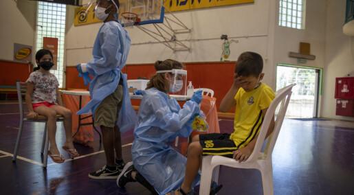 Ferske tall fra Israel kan gjøre det mer aktuelt med et tredje vaksinestikk