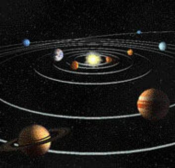 """Sett solsystemet i perspektiv på Astrofestivalen. (Illustrasjon: NASA)"""