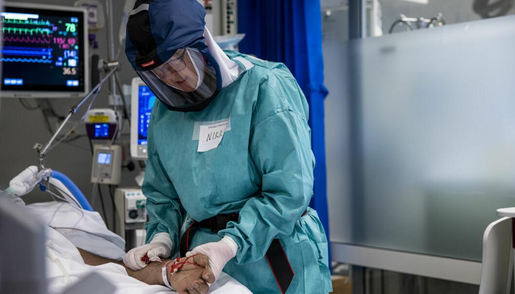 En ny, svensk studie viser at menn som var i god form da de var vernepliktige, har mindre grad trengte sykehusbehandling da de ble smittet av korona våren 2020.