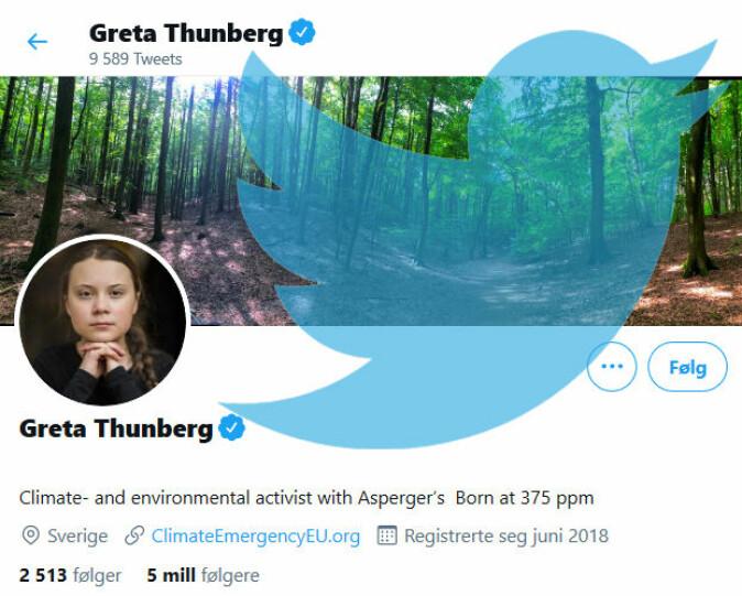Greta Thunberg har fått mange negative kommentarer fordi hun har vært åpen om sin diagnose. Hun har samtidig bevist at hun blir sett på som en stor politisk drivkraft og et forbilde for mange.