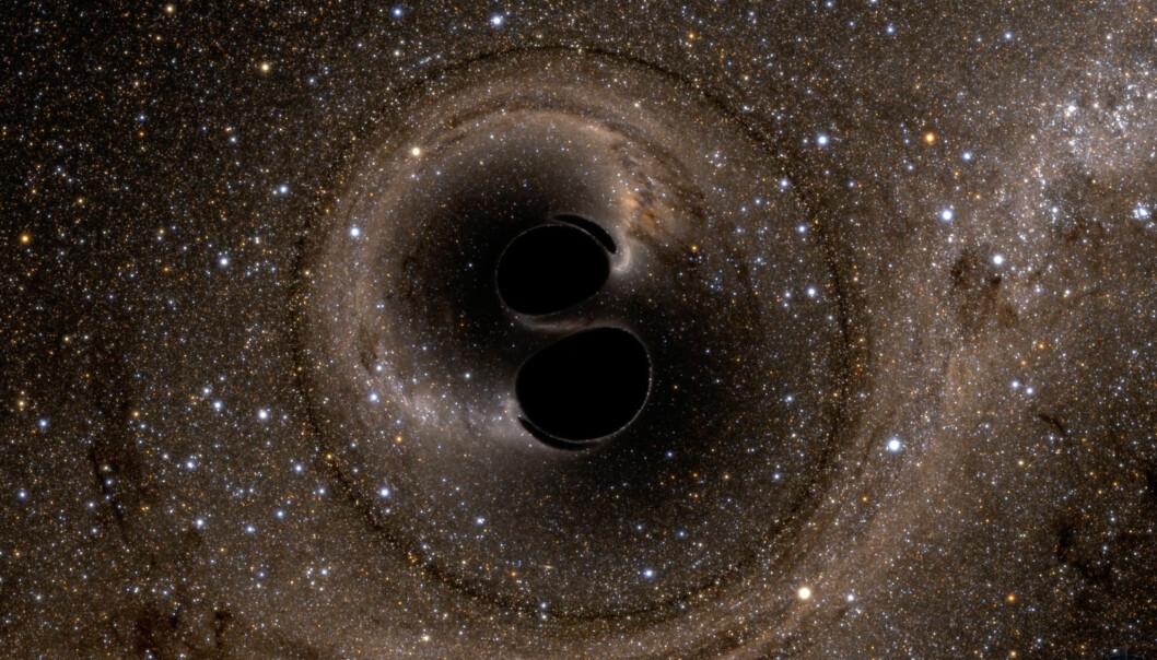 Forskere har brukt gravitasjonsbølger fra to svarte hull som smeltet sammen til å teste en av Stephen Hawkings teorier om svarte hull for første gang.