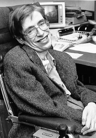 Den britiske fysikeren Stephen Hawking er blant annet kjent for sin forskning på svarte hull.