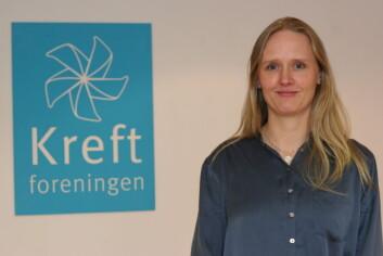 Christine L. Parr. (Foto: Foto: Marte Gråberg, Kreftforeningen)