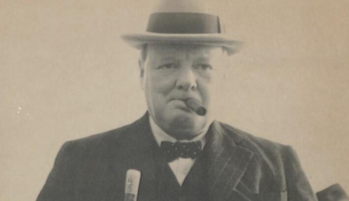 Englands tidligere statsminister Winston Churchill var ikke kjent som sunnheten selv. Likevel ble han 90 år.