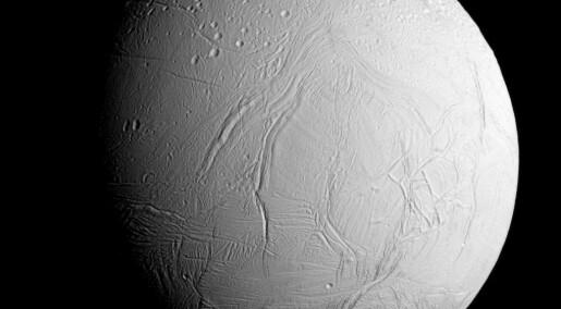 Hvor stor er sjansen for at det er liv på Saturns måne Enceladus?