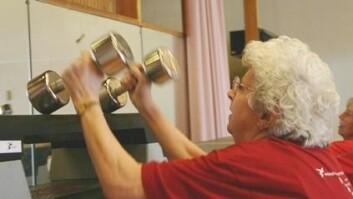 Flere eldre ønsker å trene i dag enn for 20 år siden. (Foto: Torunn Gjerustad)