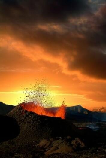 Vulkan. (Illustrasjonsfoto: iStockphoto)